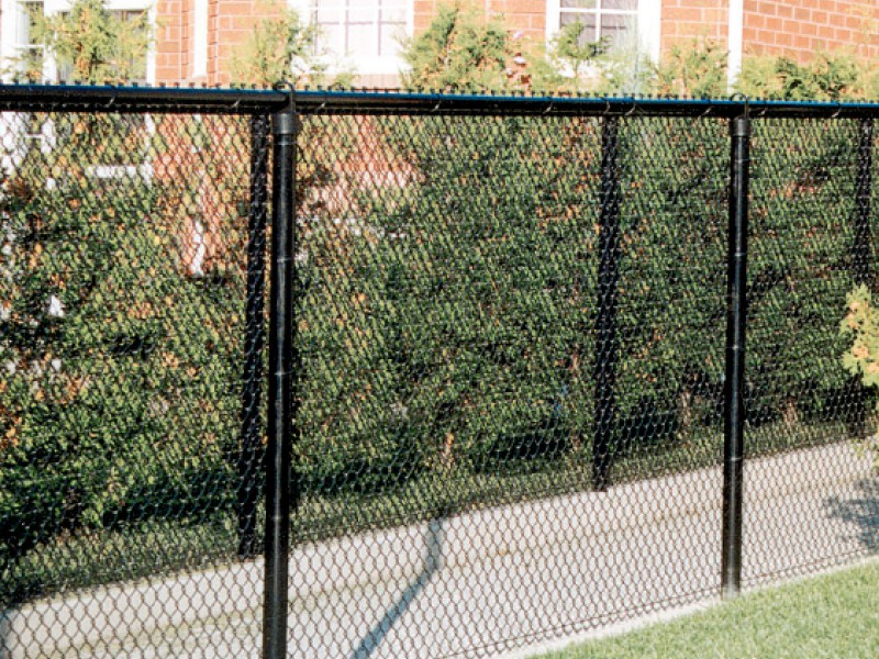 Image of: Chain Link Fence Panels Kits
