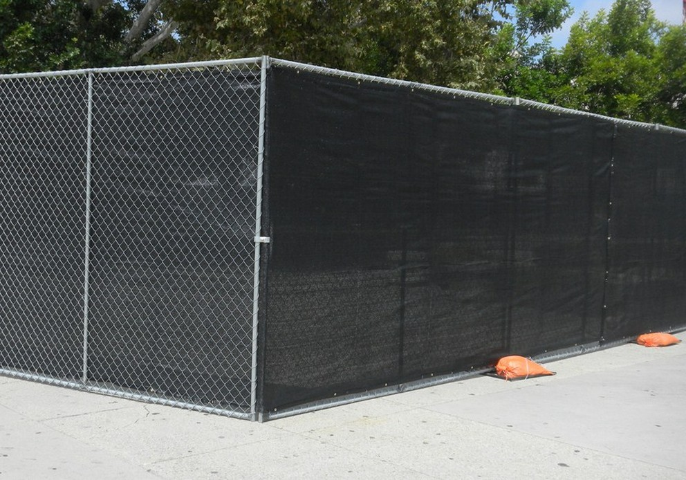 Image of: Chain Link Fence Panels Large
