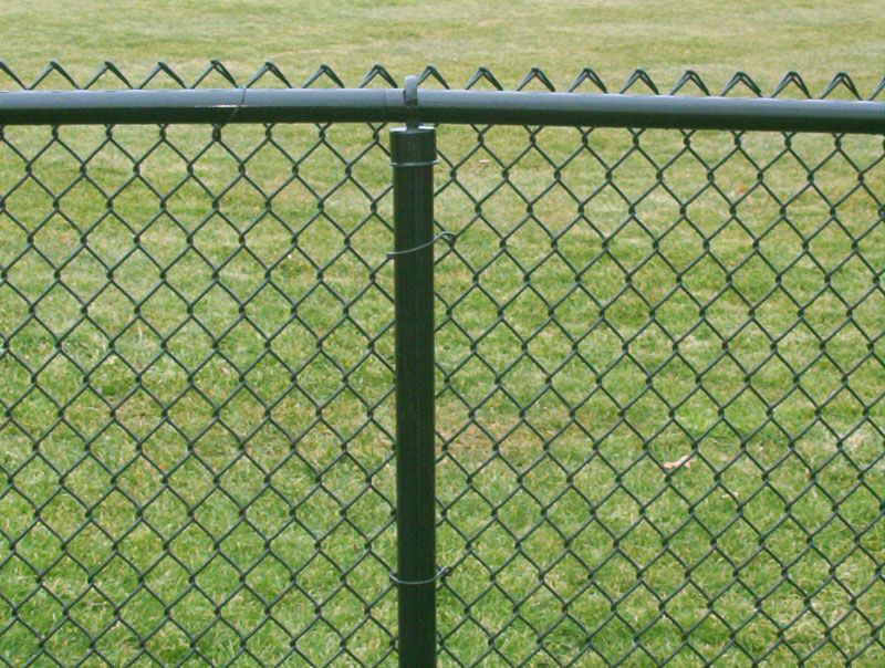 Image of: Chain Link Fence Parts Colors