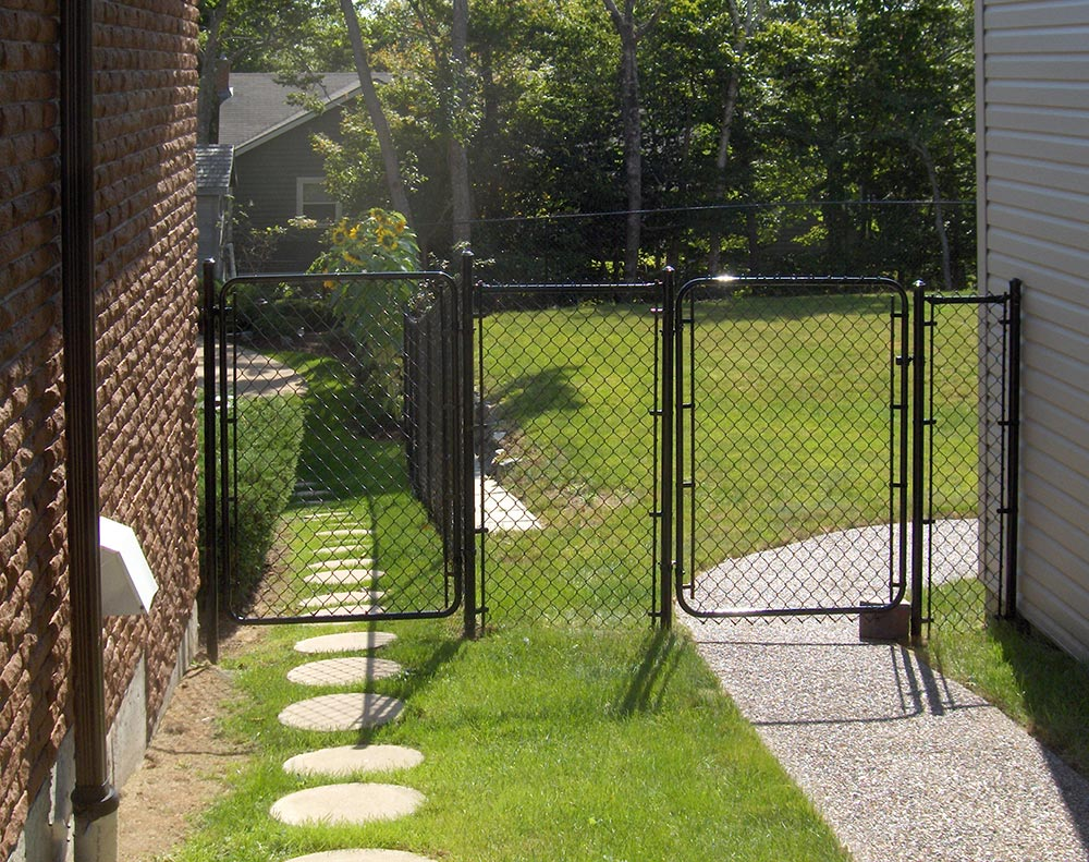 Image of: Chain Link Fence Parts Gates