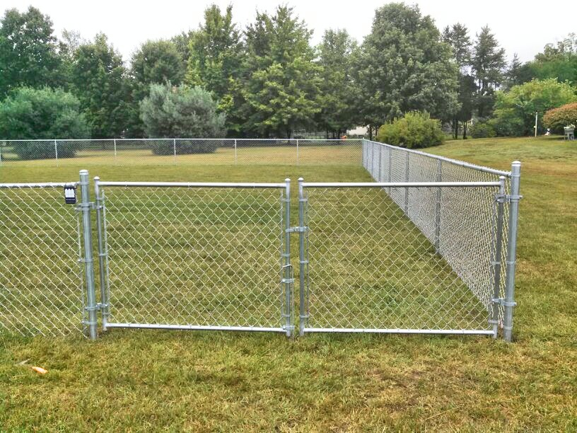 Image of: Chain Link Fence Parts Type