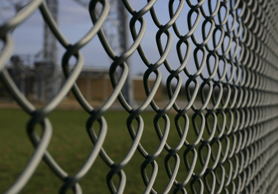 Image of: Chain Link Fence Parts