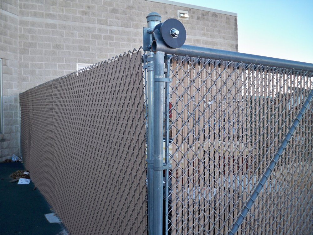 Chain Link Fence Privacy Slats Style