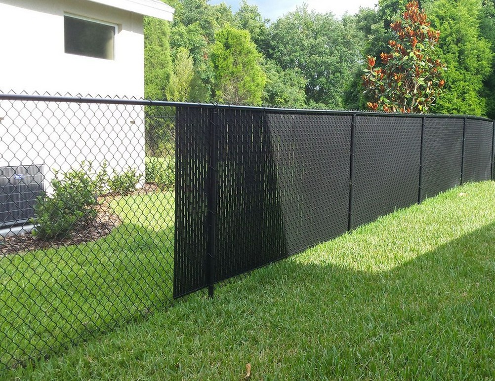 Chain Link Fence Slats Design