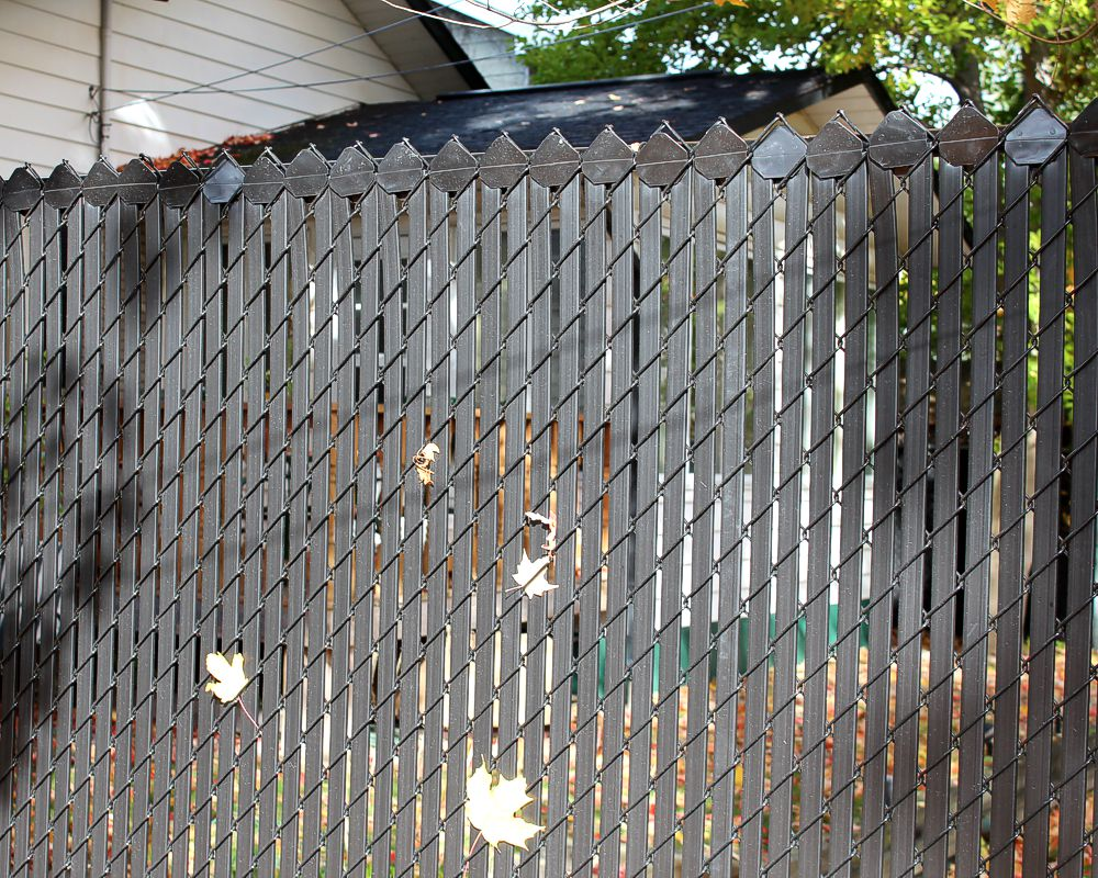 Chain Link Fence Slats Picture