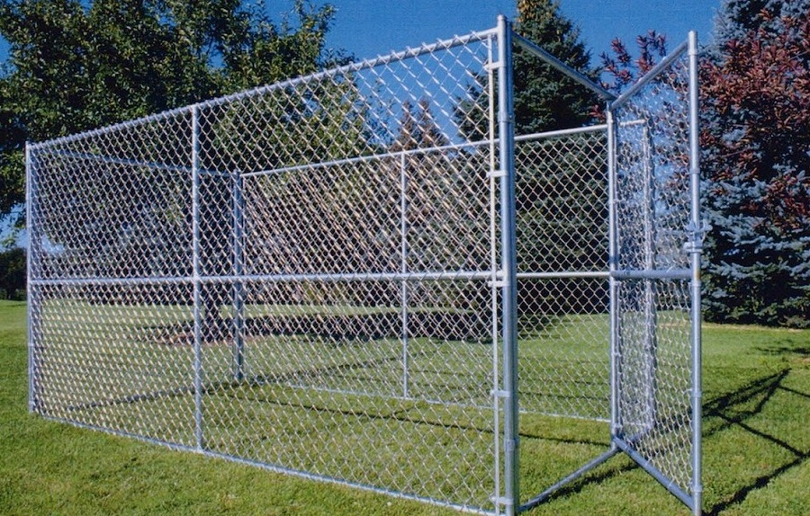 Image of: Chain Link Fencing Design