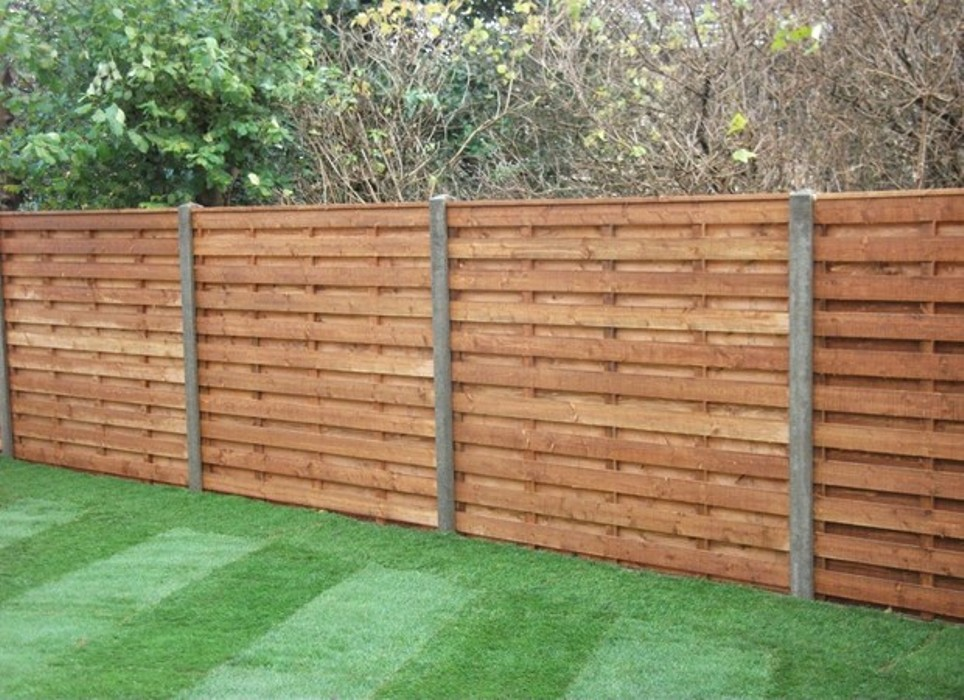 Image of: Cheap Fence Ideas Panel