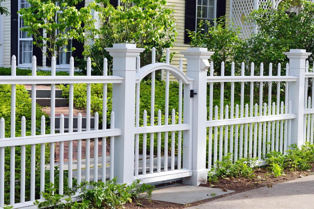Image of: Cheap Fencing Style