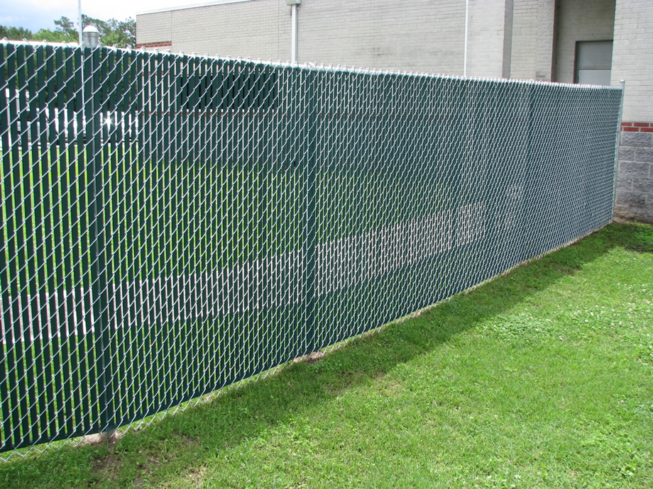 Image of: Commercial Chain Link Fence