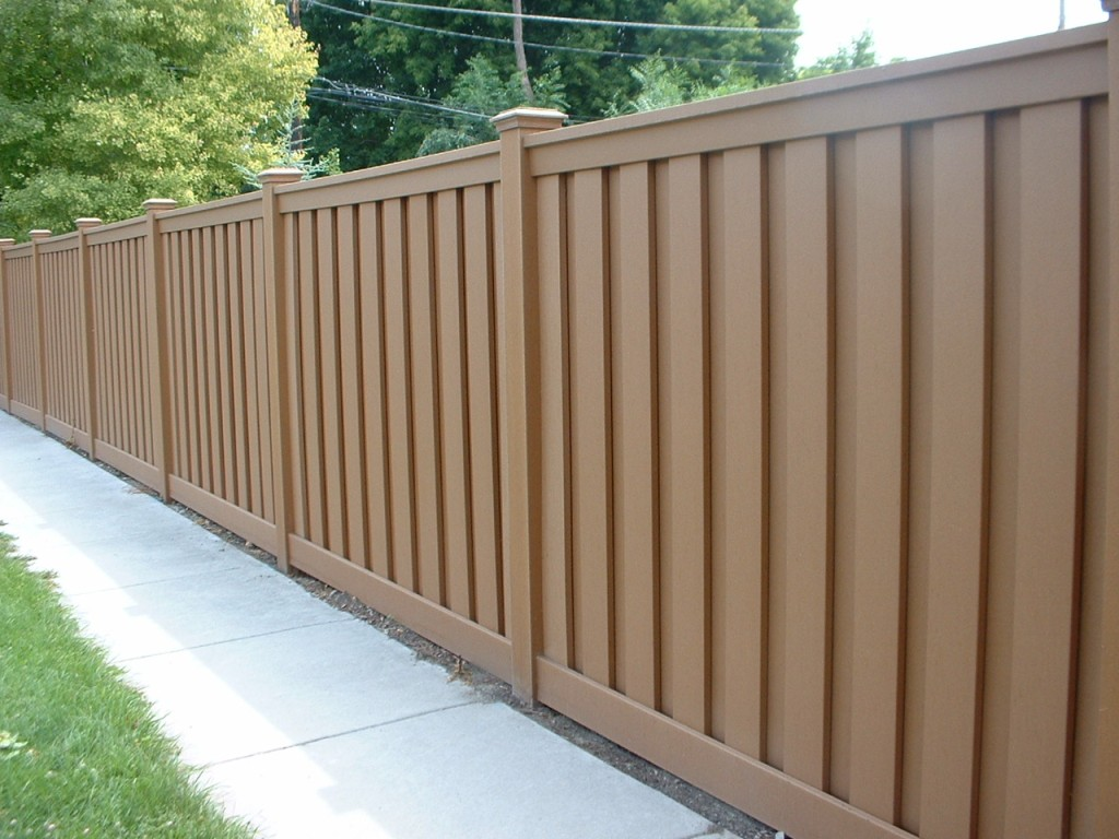 Image of: Composite Fence Panels