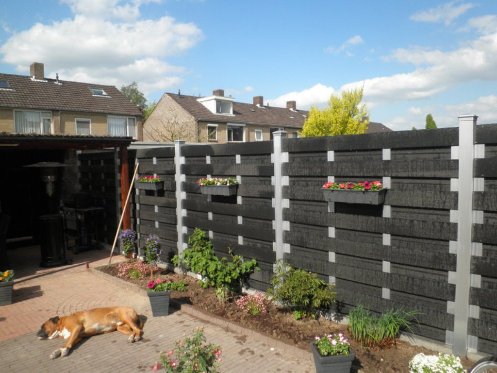 Image of: Composite Fencing Ideas