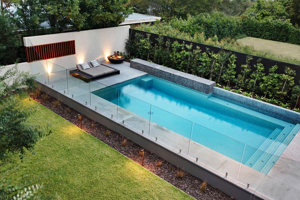 Contemporary Pool Fencing