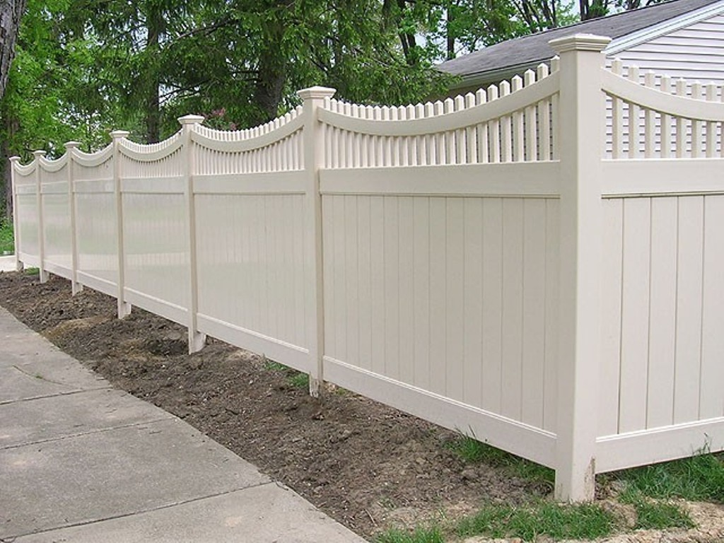 Image of: Corner Lot Fence Ideas for Front Yard Wood