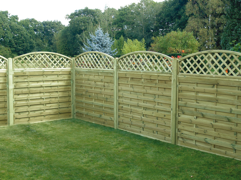 Image of: DIY Lattice Fence Panels