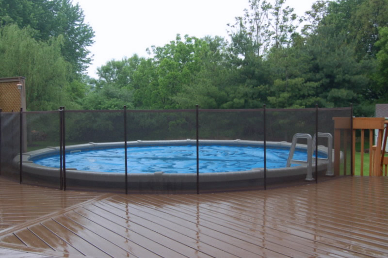 Deck Above Ground Pool Fence