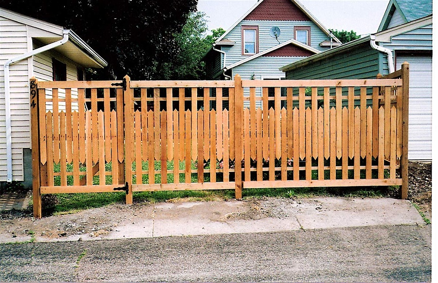 Image of: Decorative Fencing Diy