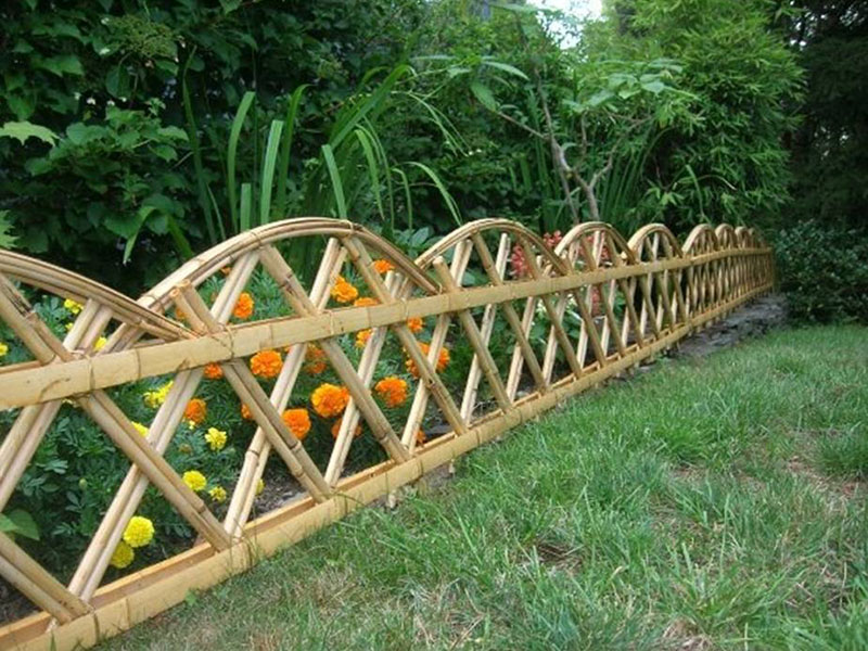 Image of: Decorative Fencing Garden