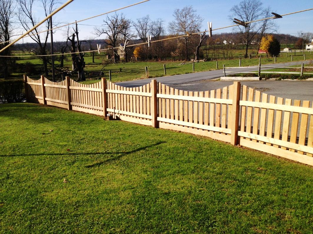 Image of: Decorative Fencing Home