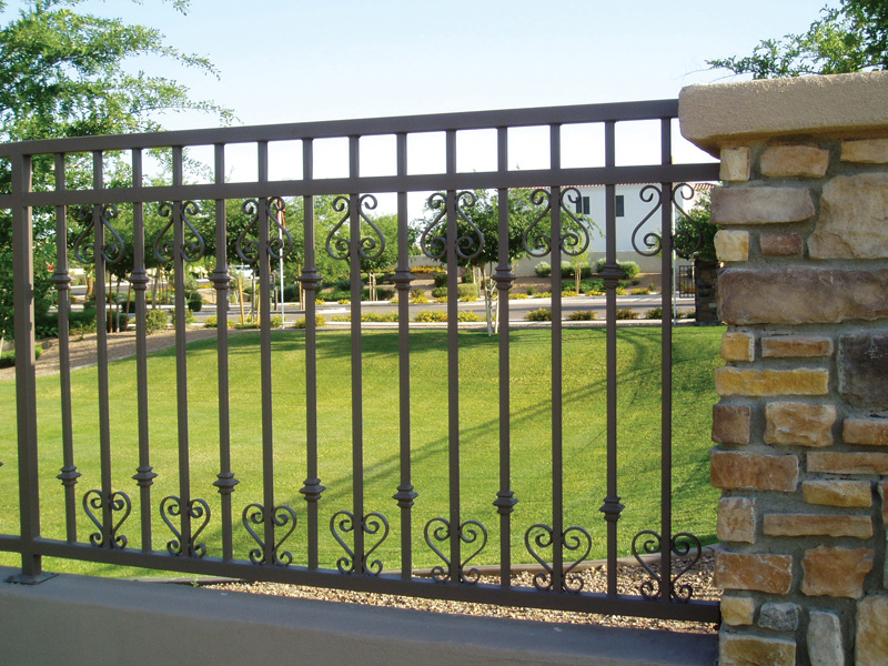 Image of: Decorative Fencing Ideas