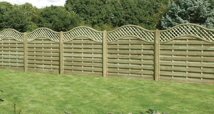 Image of: Decorative Fencing Wood
