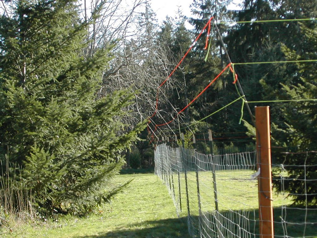 Deer Fencing Plan