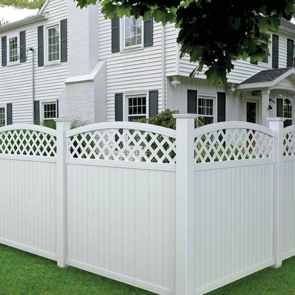 Image of: Design Cheap Fencing Ideas