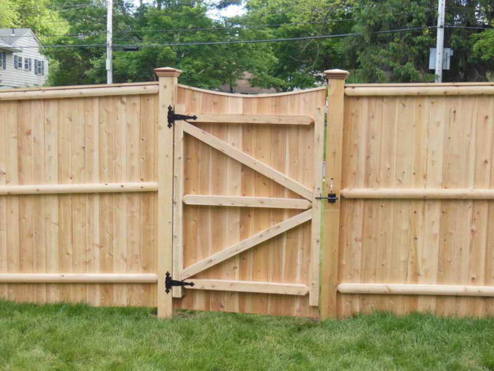 Image of: Design How To Build A Fence Gate