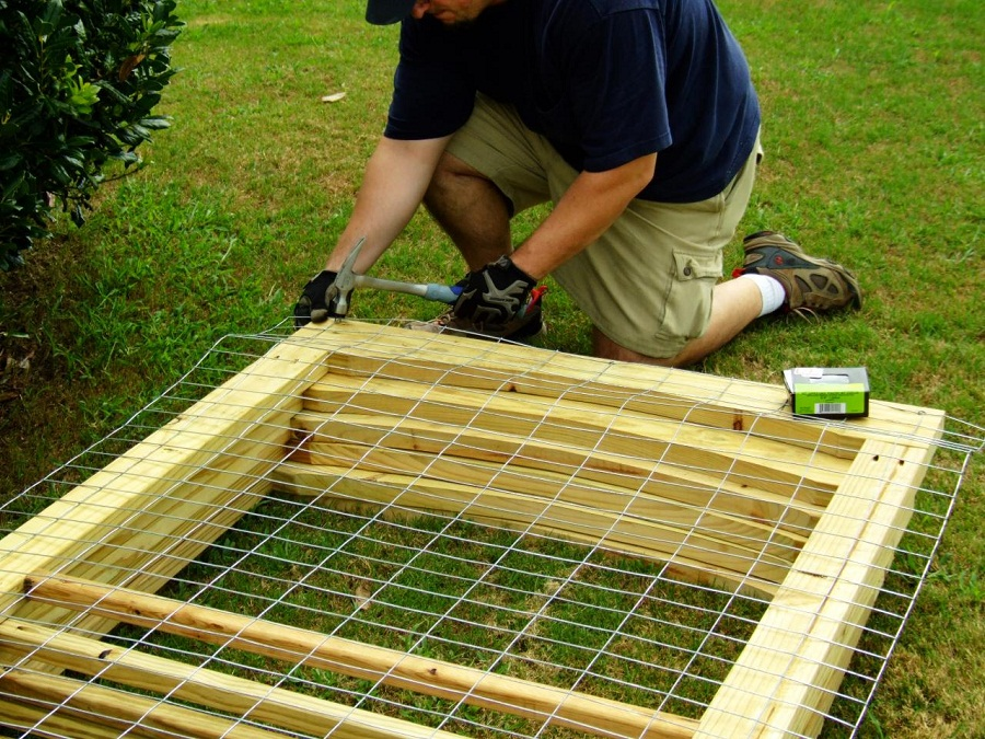 Diy Dog Fence Panels