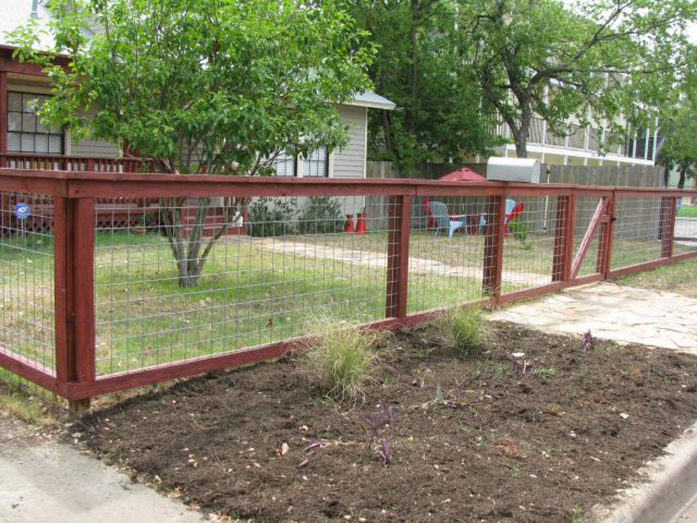 Dog Fence Wire Ideas