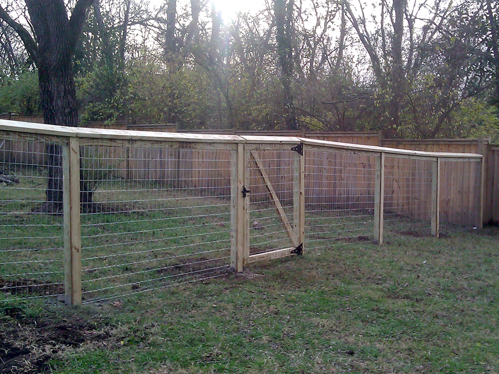Image of: Dog Fencing Panels