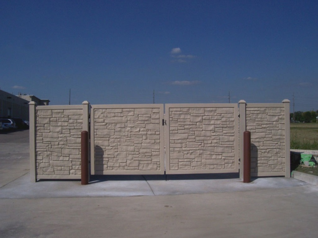 Image of: Ecostone Fence Reviews