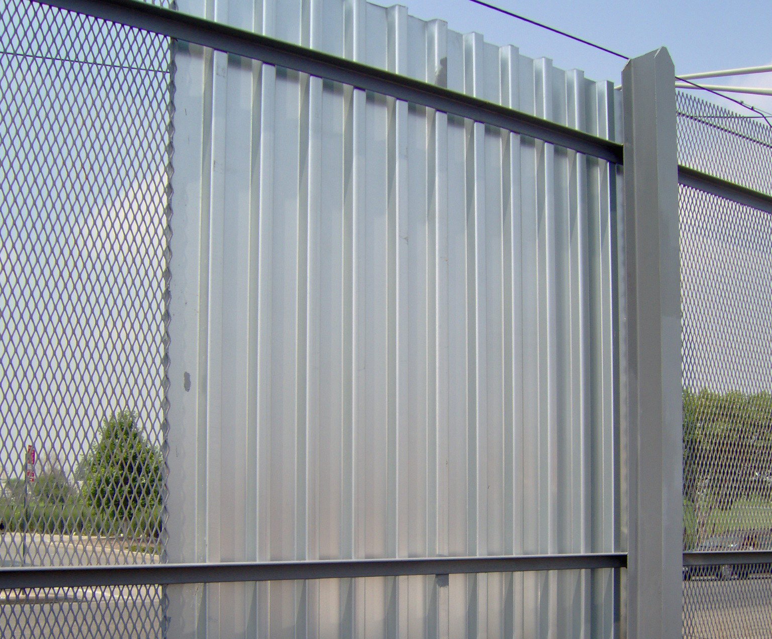 Exterior Metal Fence Panels