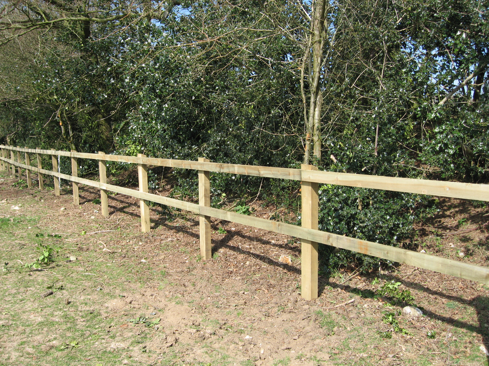 Image of: Fence Post Plan