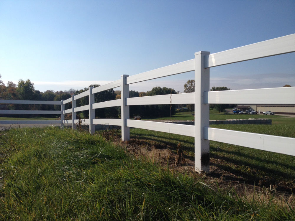 Image of: Fence Post Vinyl