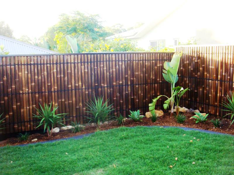 Fence Privacy Screen Bamboo