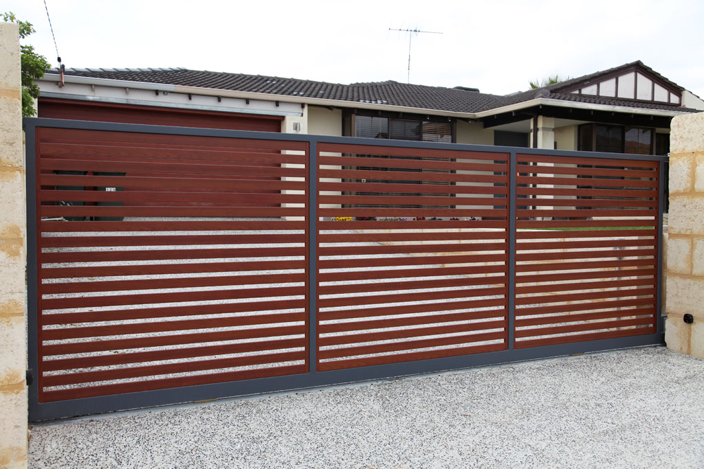 Image of: Fence Slats Brown