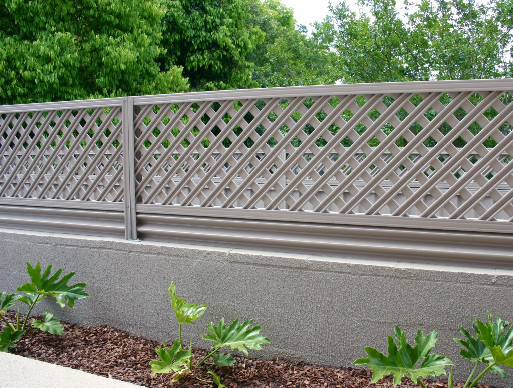 Image of: Fence Slats Grey