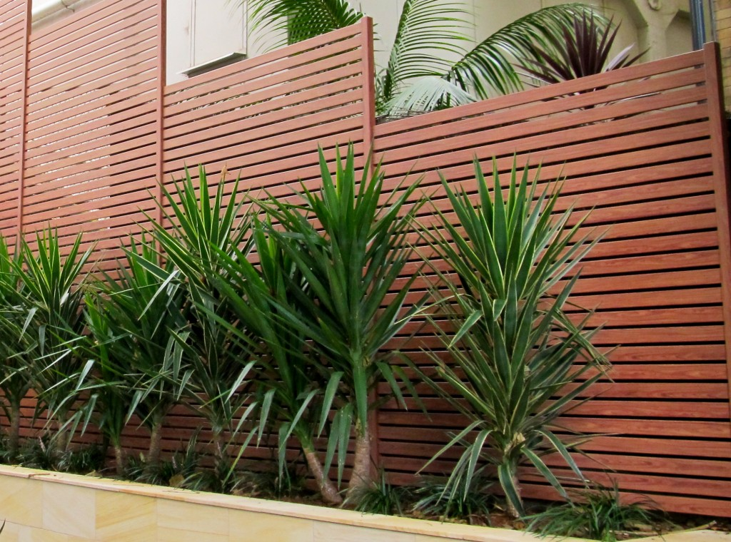 Image of: Fence Slats Height