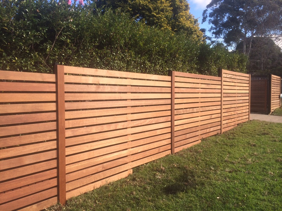 Image of: Fence Slats Wood