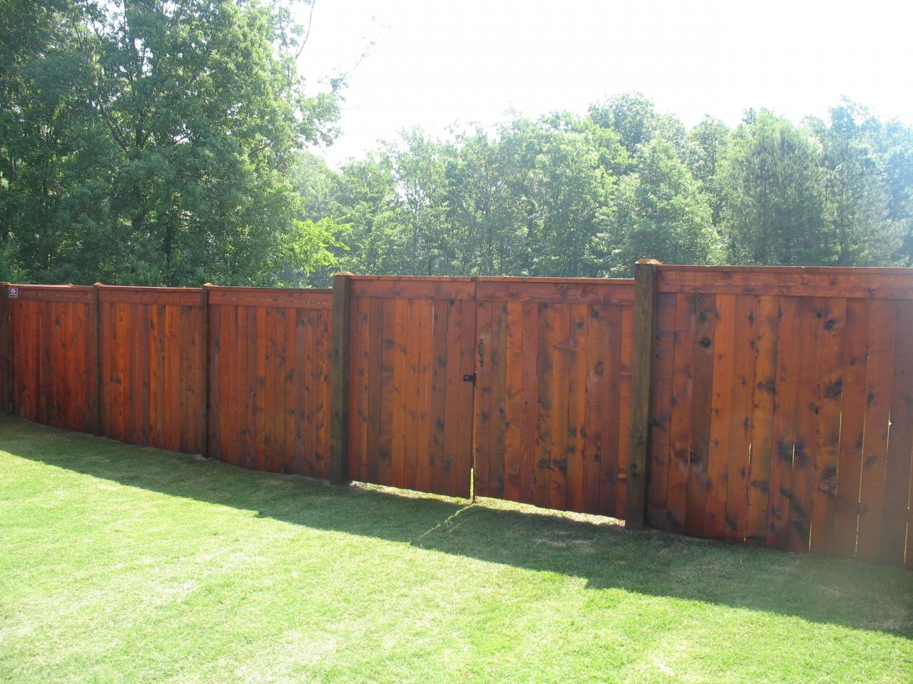 Fence Stain Ideas