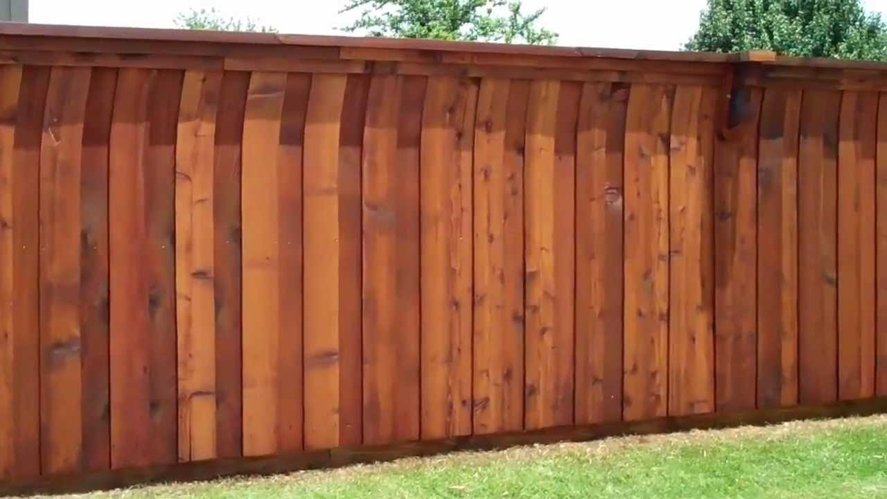 Fence Stain Image