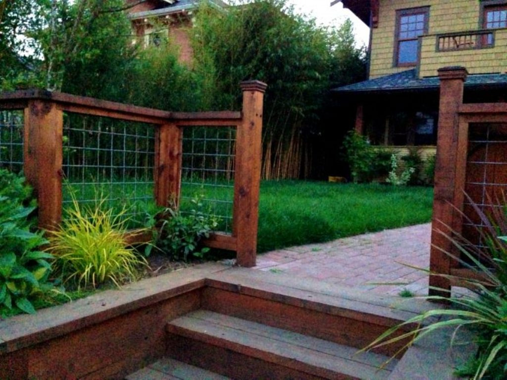 Image of: Front Yard Fence Designs Ideas