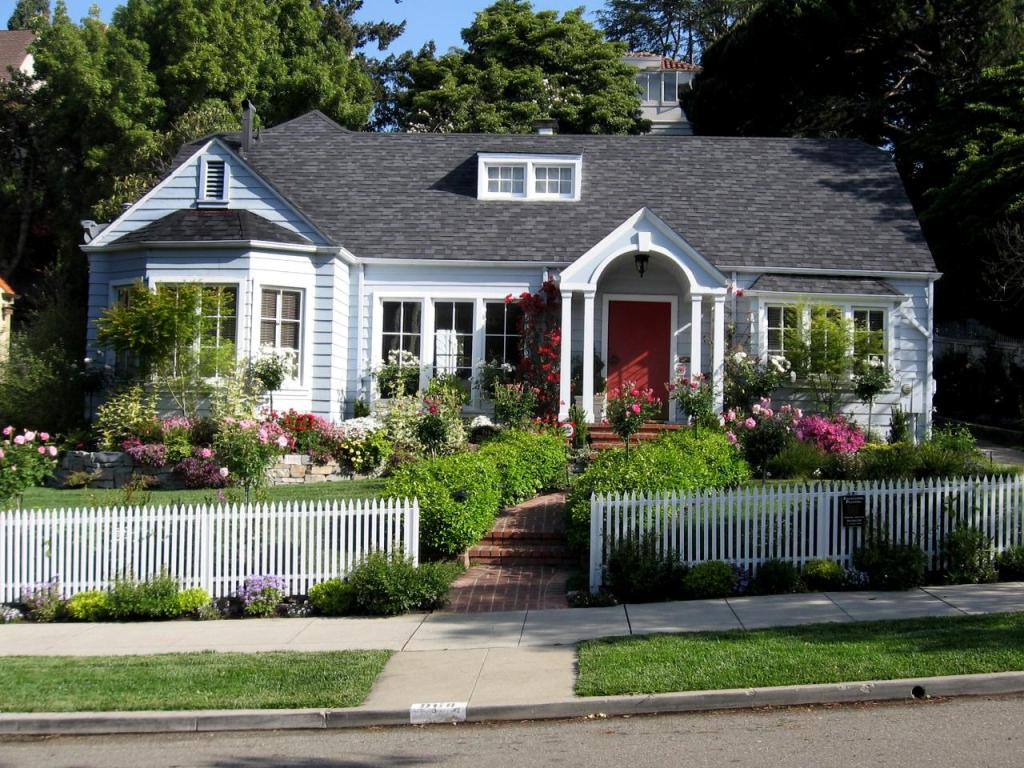 Front Yard Fence Images