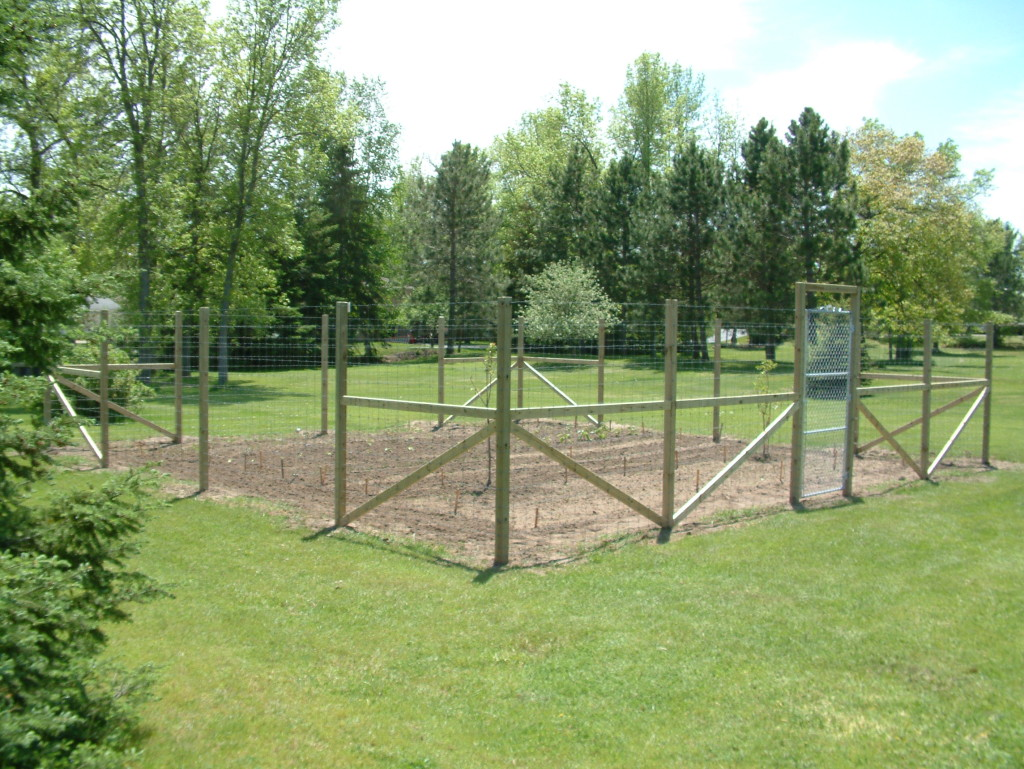 Image of: Garden Deer Fences