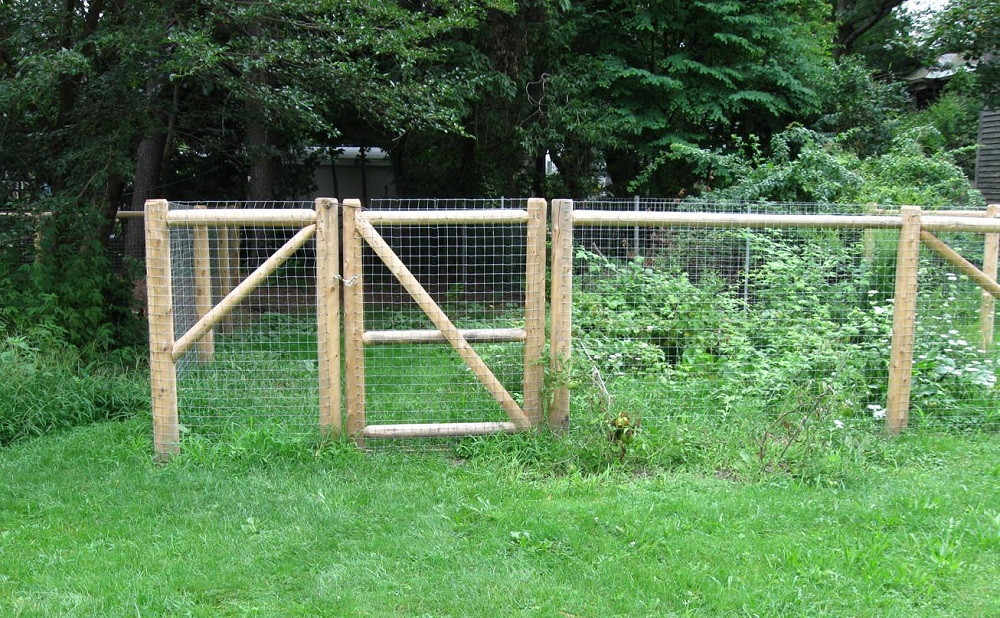 Garden Dog Fence Ideas