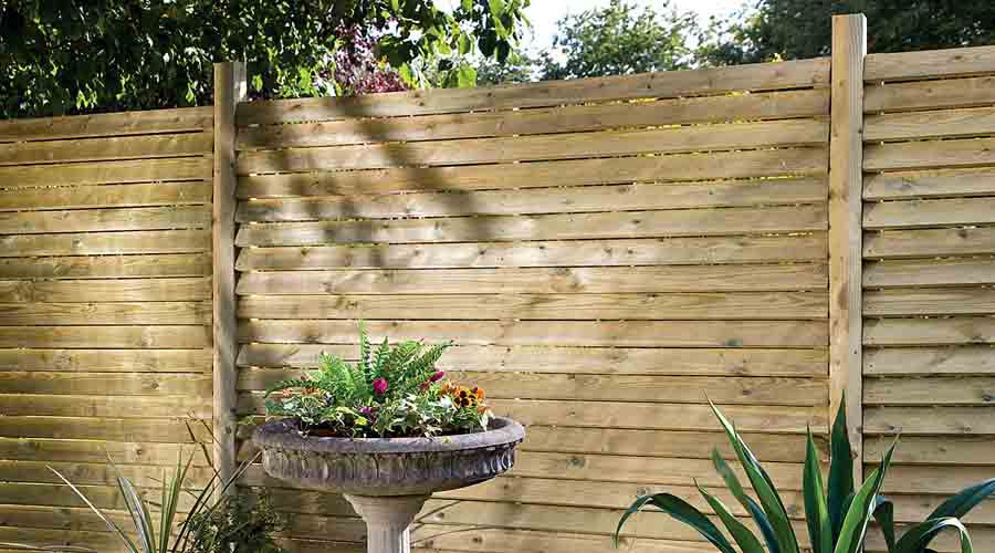 Image of: Garden Fence Panels Home