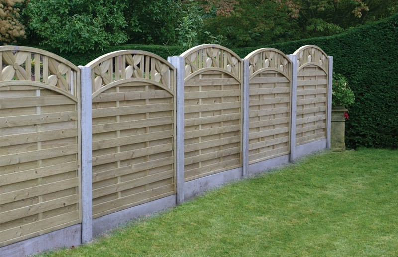 Image of: Garden Fence Panels Ideas