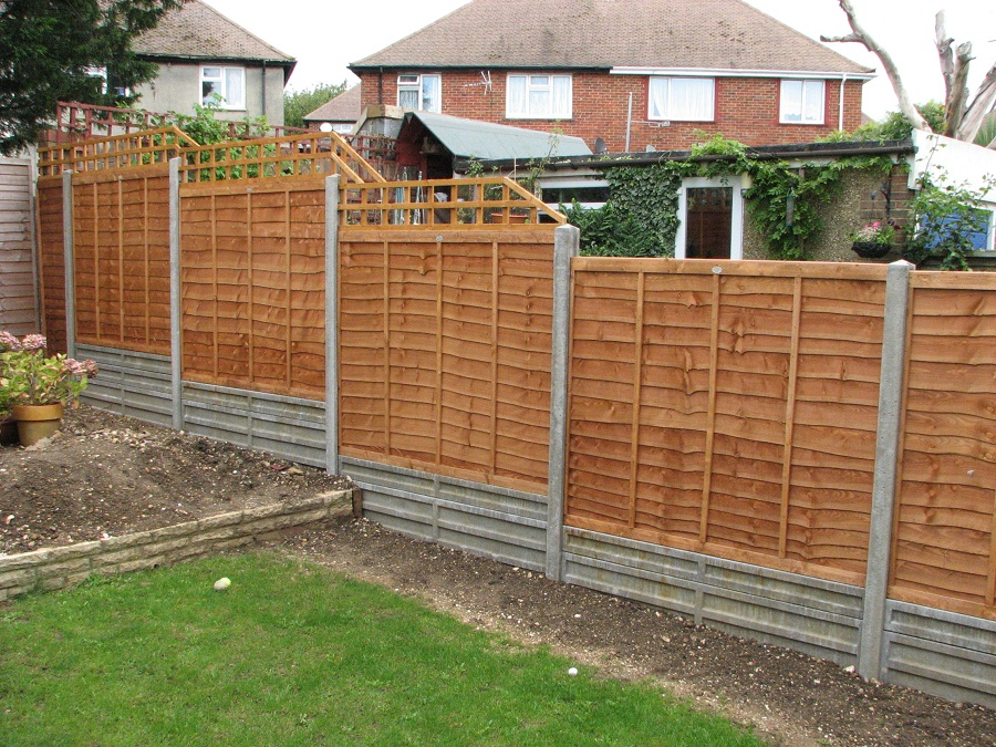 Image of: Garden Fence Panels Modern