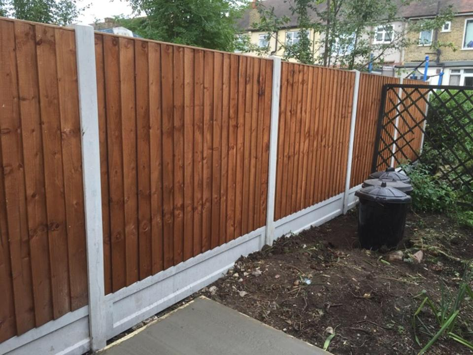 Image of: Garden Fence Panels Type