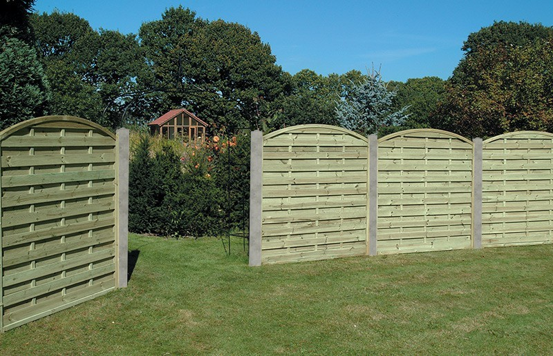 Image of: Garden Fence Panels